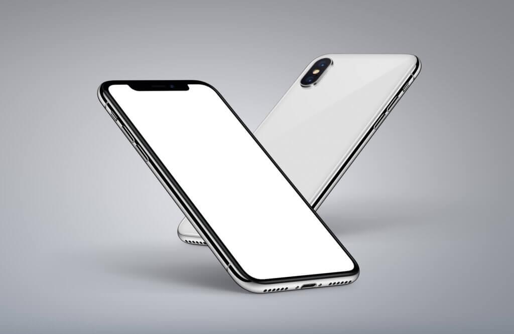 iPhone X for og bag
