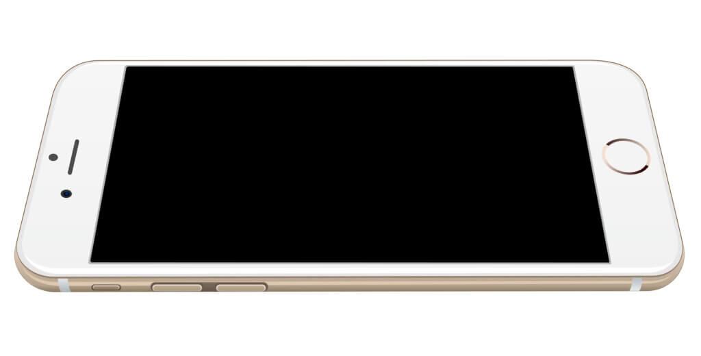 iPhone i hvid